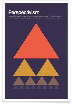 Perspectivism als Premium Poster von Studio Carreras | JUNIQE
