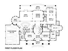 Vinius House Plan Vinius House Plan | Archival Designs | First Floor Plan