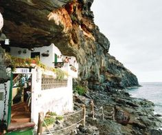 Cave dwelling on the Canary Island of Tenerife  Would love to go to the Canary Islands - where my ancestors are from.