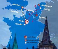 Oferta de viaje a Abu Dhabi. Entra, informate y reserva el viaje Circuito de 7 dias por Par�s y Londres