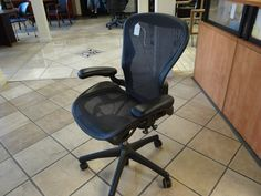 Like New!! Aeron Chair by Herman Miller. Great deal, get it before it's gone. 2700 Riverside Drive Chattanooga. ofwllc.com