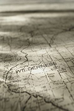Grab a map and wander into the unknown. #travel