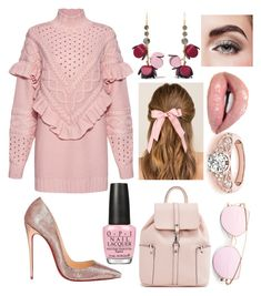"""Untitled #627"" by denis-bogdan-siminiuc on Polyvore featuring Mother of Pearl, Christian Louboutin, Francesca's, OPI, Marni and Avon"