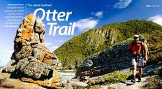 Naming South Africa's most popular hiking trail after a cute, furry, clawless animal was a diabolical excercise in false advertising . Otters, Hiking Trails, Excercise, Adventure, Travel, Outdoor, Google Search, Ideas, Ejercicio