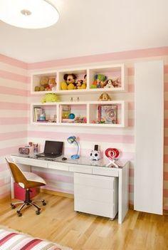 Resultado de imagem para quarto com nichos feminino
