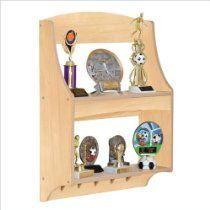 Guidecraft Expressions Trophy Rack   Natural // Description Guidecraft  Expressions Trophy RackChildren Are Proud Of