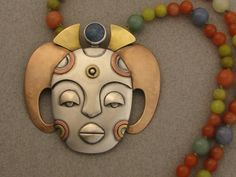 The Jewelry of Ahlene Welsh - Horned Lady