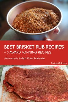 Discover recipes, home ideas, style inspiration and other ideas to try. Pellet Grill Recipes, Grilling Recipes, Best Brisket Rub, Smoked Brisket Dry Rub Recipe, Dry Rub For Brisket, Beef Brisket Injection Recipe, Smoked Pork, Beef Brisket Recipes, Beef Brisket Oven