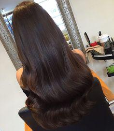 H A P P Y C U S T O M E R @jen_napier brunette beauty with our #SalonProfessional bonds by @tashacalvey_hair #Edinburgh