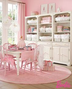 Shabby Cottage chic pink white