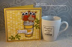 Creative Stampin4you: Spring Coffee Blog Hop & Sketch