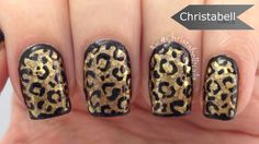 Leopard over a Polish Combo - Tutorial