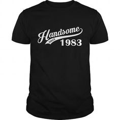 Handsome Since 1983 T Shirts, Hoodie. Shopping Online Now ==►…