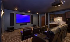 home theater...dream house :-)