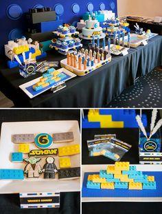 Legos & Lightsabers Star Wars Birthday Party this is what Cor wants for his birthday party this year.