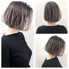 Pin on ボブ Short Hair Cuts, Short Hair Styles, Cabello Hair, Hair Streaks, Hair Arrange, Short Hairstyles For Women, Hair Dos, Balayage Hair, Hair Designs