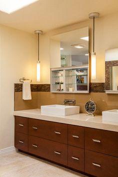 Bathroom Pendant Sconces sconces ? - robern uplift series pendant light (uflpal) $297