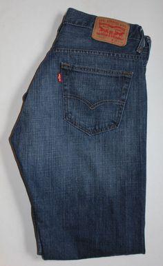 Levis 550 Men's Jeans Size 40 x 32 Denim Red Tab #Levis ...