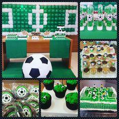 Festa linda feita para o meu pequeno, do jeitinho que ele queria!  Tema: Futebol Bolo, Doces e Personalizados @SweetK Docinhos Enrolados by @meimybarranco Painel de balões by @Magiaeartefestas #festa #aniversario #birthday #futebol #soccer #doces #bolo #cake #sweet #instacake #instafood #instagood #instabirthday #cakestagram #instasweet #ideiasdebolosefestas #mae_festeira #festejandoemcasa #kidsparty #festapersonalizada #instafesta #blogdefestainfantil #decorefesta #srafesta #sweetlife…