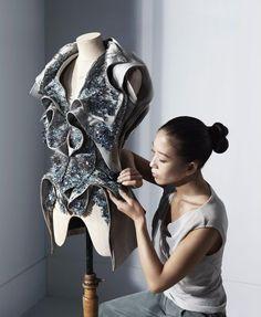 Work in fashion: Designer de moda - Raysa Ruschel