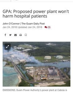 FAKE NEWS burning fossil fuels emits a number of air pollutants that are harmful to both the environment and public health. These people want to build a POWER PLANT next to a HOSPITAL. Rising my feed like the sea levels yall. Get with me. #solarpower #climatechange #guam #gudlife #guamlocal #powertothepeople #staywoke #wakeup #timeswasting #thepowertochange #protectmotherearth #saveourplanet #gogreen #travel #powerbillsnomore #fakenews #solarpanel #solarenergy #renewableenergy #globalwarming…