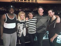 """""""Last rehearsal until the big day! We cannot believe the #OnMyWayHomeTour starts tomorrow in Oakland! We are SO happy with how everything looks and know you all are gonna love it!!"""" -Pentatonix-"""