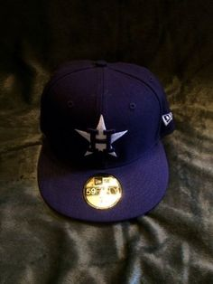 fecacf26497 Houston Astros Purple And White New Era 59 50 Hat Size 7 1 8