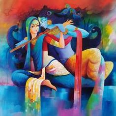 Radha Krishna love  by Sanjay  Tandekar