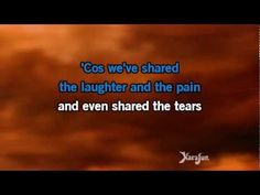 karaoke.... Phil Collins, Against All Odds