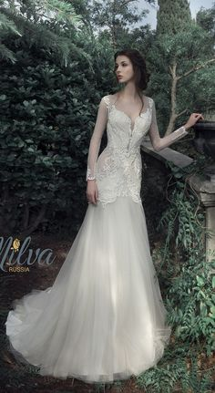 Milva Bridal Wedding Dresses 2017 Isabella / http://www.deerpearlflowers.com/milva-wedding-dresses/6/