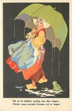 ~ vintage postcard, via eBay