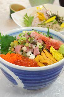 夏野菜のバクダン丼