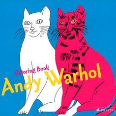 Andy Warhol, 85 años. Sus obras sirven de modelo para colorear en esta obra de @Prestel_UK, de la colección Coloring Book http://www.veniracuento.com/