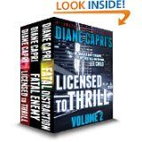 Amazon.com is offering 30% off any one book with code BOOKDEAL. The offer is good until 11:59PST Dec. 1, 2014. And it applies to books in my Jack Reacher series, the Jess Kimball Thrillers, and the Justice Series. Happy Shopping! - Team Capri  dianecapri.com