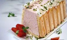 Šarlota s jagodama — Recepti — Coolinarika Just Cakes, Vanilla Cake, Cheesecake, Sweet, Recipes, Food, Christmas, Crafts, Sweets