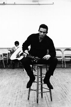 """""""Well I haven't got a nickel, not a penny can I show."""" Waiting For A Train - Johnny Cash"""