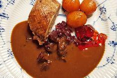 Pot Roast, Dips, Cooking, Ethnic Recipes, Denmark, Dressing, Food, Carne Asada, Kitchen
