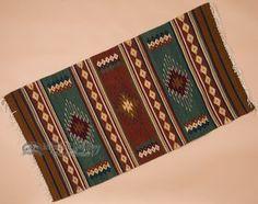 "Extra Fine Zapotec Indian Southwestern Rug 30""""x60"""" (200)"