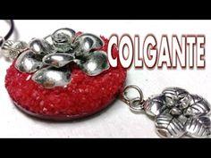 COLGANTE RECICLADO DE LATA - YouTube
