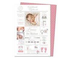 geboortekaartjes geboorte certificaat