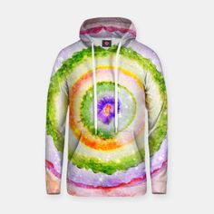 Abstract circle Baumwoll Kapuzenpullover Bild der Miniatur Hero, Hoodies, Live, Sweaters, Fashion, Full Zip Hoodie, Miniature, Moda, Sweatshirts