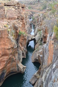 Bourke's Luck Potholes in Zuid-Afrika is een prachtig natuurfenomeen.