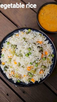 easyvegetable rice recipe mix veg rice quick one pot vegetable rice Lunch Box Recipes, Veg Recipes, Spicy Recipes, Indian Food Recipes, Vegetarian Recipes, Cooking Recipes, Healthy Recipes, Mexican Rice Recipes, Curry Recipes
