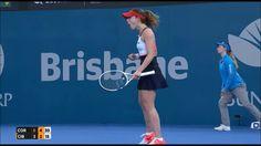 Dominika Cibulková v Alizé Cornet ● Brisbane QF 2017