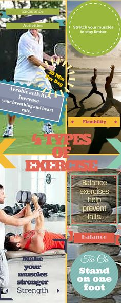 Add a variety of exercises to your routine. Click to find out more!