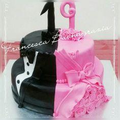 Twins elegant cake