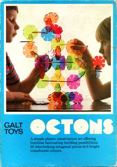 Ghosts in the TV - retroreverbs: Octons (Galt Toys) - A simple...