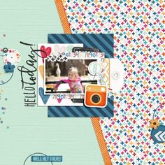 Digital Layout | February 2016 Storyteller Collection by Just Jaimee