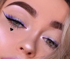 Image about beauty in Makeup by L♡ on We Heart It Makeup Eye Looks, Creative Makeup Looks, Cute Makeup, Eyeshadow Looks, Pretty Makeup, Skin Makeup, Eyeshadow Makeup, Eyeshadows, Makeup Goals