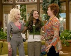 "~ aka ""Aunt Dolly"" on the Hannah Montana Show Hannah Montana Show, Miley Stewart, Living Legends, Dolly Parton, Sari, Actresses, American, Aunt, Fashion"